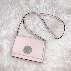 Kate Spade Leather Blush Pink Crossbody Purse
